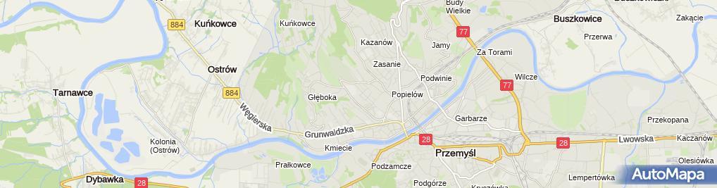 Zdjęcie satelitarne Marketing Agencja Handlowa