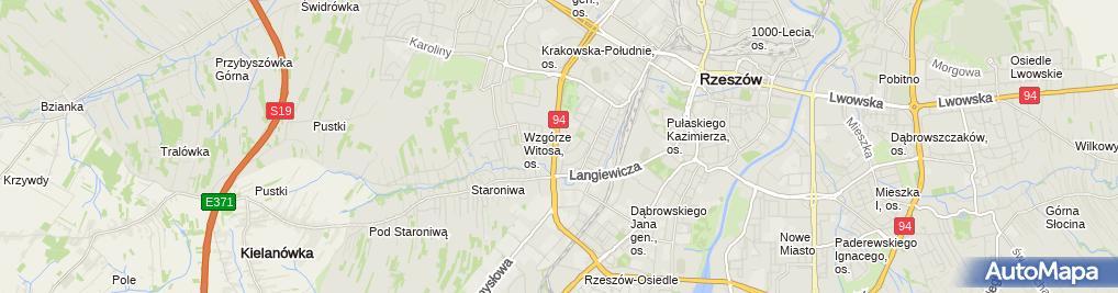 Zdjęcie satelitarne Marketing, Pośrednictwo Handlowe Wciślak Barbara