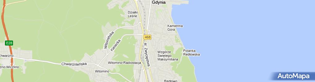 Zdjęcie satelitarne Marlaw Zaleszczuk Kancelaria Radców Prawnych Centrum Szkoleń i Analiz