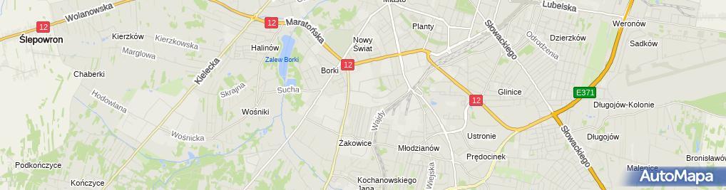 Zdjęcie satelitarne Mastalerz Grzegorz Sima Przedsiębiorstwo Produkcyjno - Usługowe i Handlowe