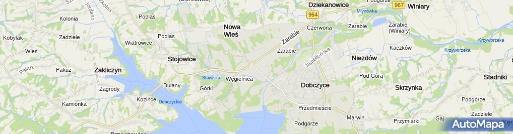 Zdjęcie satelitarne Mateusz Masełko Usługi Transportowo - Budowlane