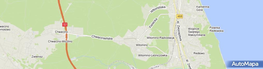 Zdjęcie satelitarne Matika Projekt Angelika Chrostowska