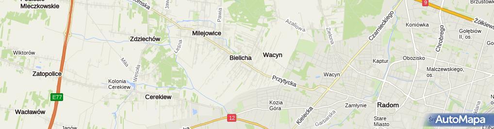 Zdjęcie satelitarne Matysiak - Doradztwo Prawne