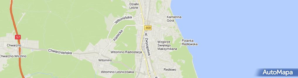 Zdjęcie satelitarne Mawges