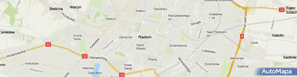 Zdjęcie satelitarne Mazowieckie Centrum Kosmetologii Elżbieta Bednarek