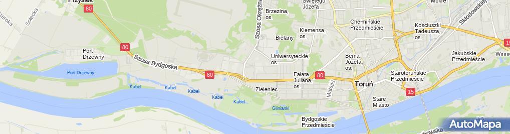 Zdjęcie satelitarne Meblo-Car Mariusz Kołodziejski