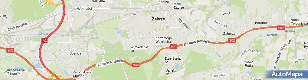Zdjęcie satelitarne Mechanika Maszyn Krzysztof Czechowski