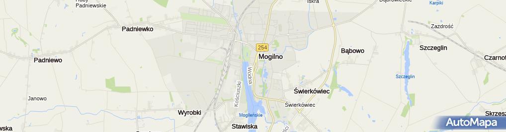 Zdjęcie satelitarne Mechanika Precyzyjna Jacek Bernaciak