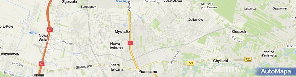 Zdjęcie satelitarne Med Eko Sielska