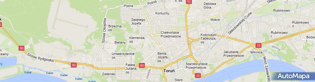 Zdjęcie satelitarne Megasport Grzegorz Starzyński