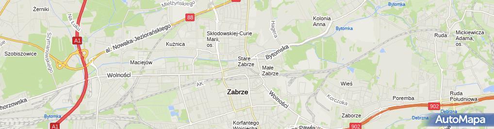 Zdjęcie satelitarne Mewtor