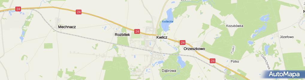 Zdjęcie satelitarne Michał Chrustek Produkcja - Handel - Usługi Marco, Zakład Stolarski, Usługi Ślusarskie