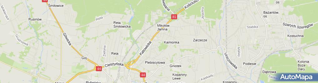 Zdjęcie satelitarne Michał Dutkiewicz Ekspert Projekt