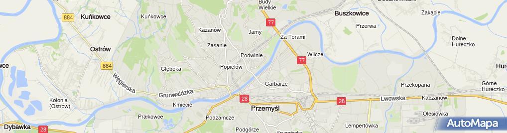 Zdjęcie satelitarne Michał Fostacz Firma Handlowo Usługowa