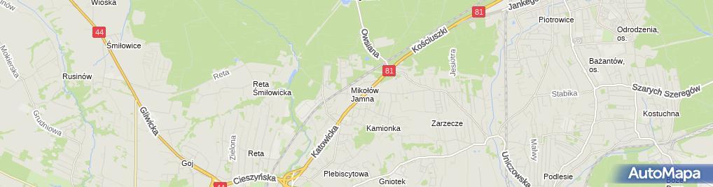 Zdjęcie satelitarne Michał Jarczyk Ast