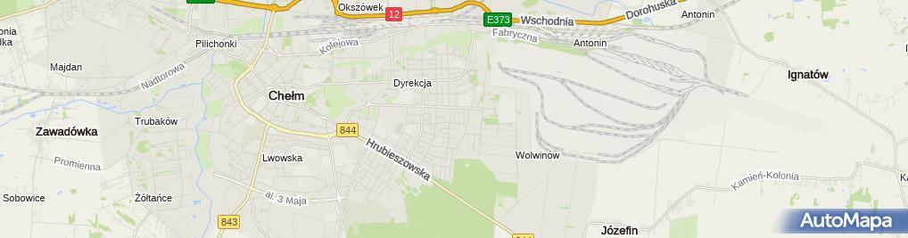 Zdjęcie satelitarne Michał Wawryszuk