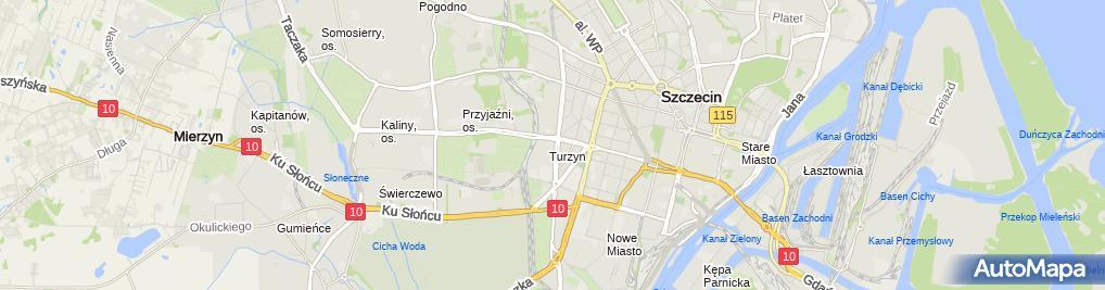 Zdjęcie satelitarne Mieczysław Miciak - Działalność Gospodarcza
