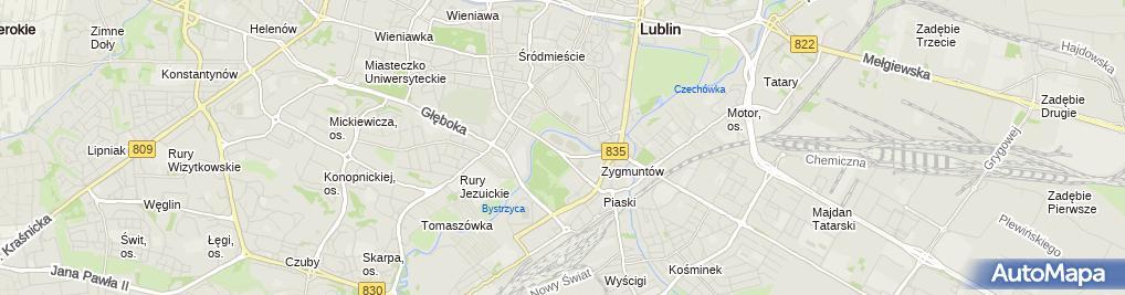 Zdjęcie satelitarne Miejski Klub Sportowy Start
