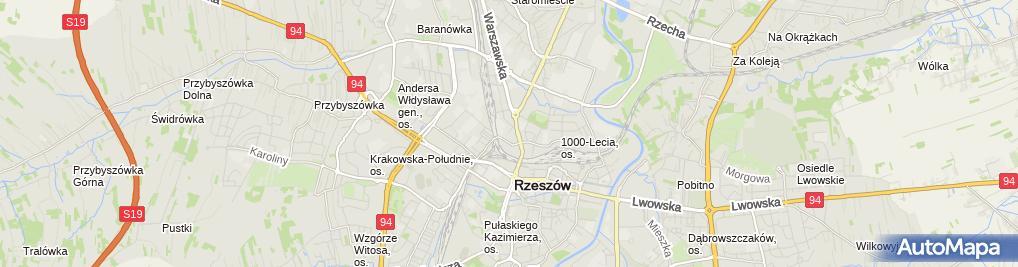 Zdjęcie satelitarne Mikro Kłoda Leszek Kocój Stefan