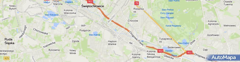 Zdjęcie satelitarne MIL Paweł Auto-Szyby