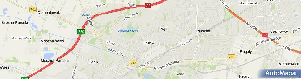 Zdjęcie satelitarne Mini Akademia Elfik