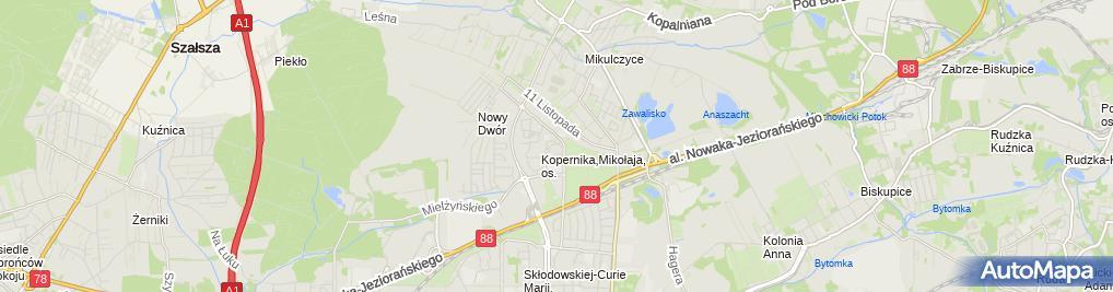 Zdjęcie satelitarne Miris