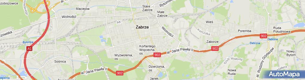 Zdjęcie satelitarne Mirosław Rawlik MR-Studio