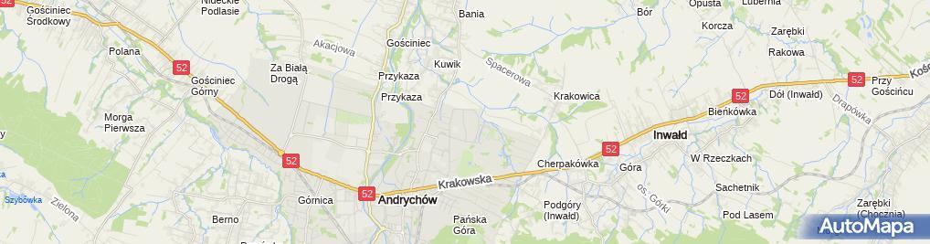 Zdjęcie satelitarne Mirosław Zacny - Działalność Gospodarcza
