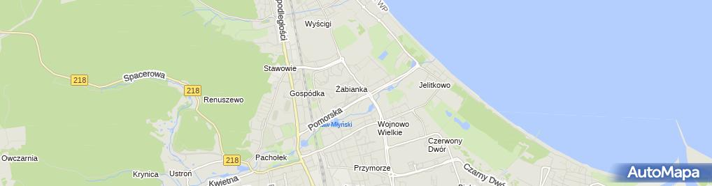 Zdjęcie satelitarne Miś Bakies Andrzej Marek