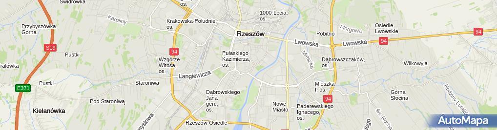 Zdjęcie satelitarne MIX Serwis Beata Łątka Ewa Tupaj