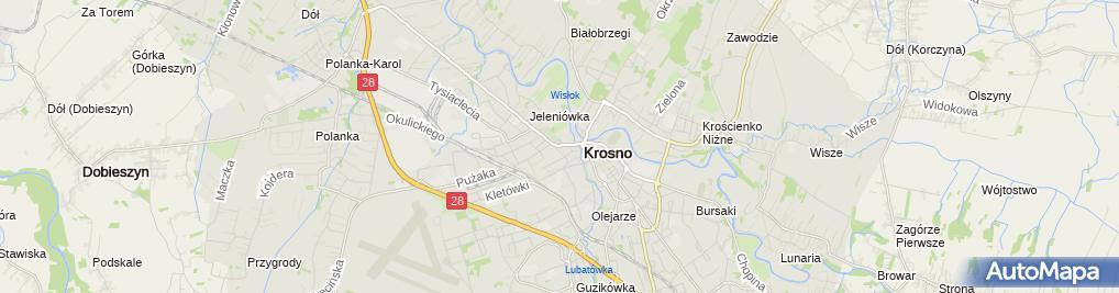 Zdjęcie satelitarne MK-Serwis Monika Jurasz