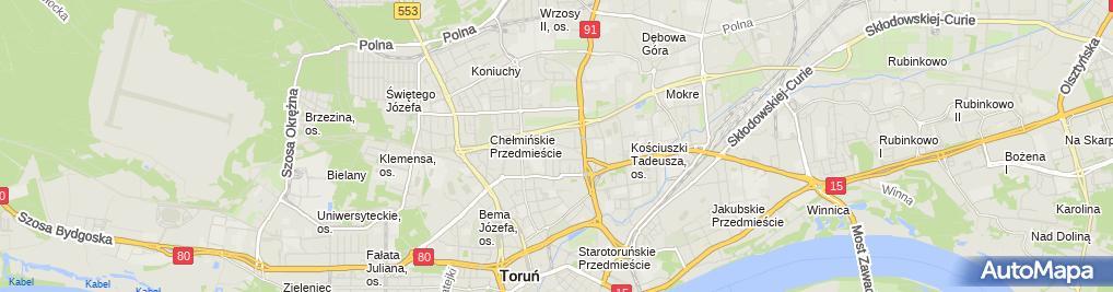 Zdjęcie satelitarne Mktch Tomasz Chwast