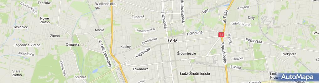 Zdjęcie satelitarne Moja Chata