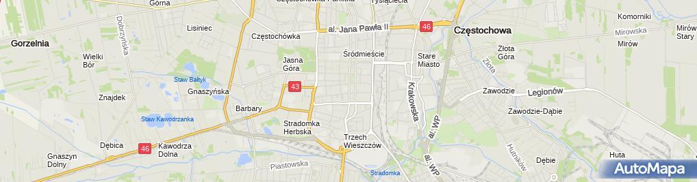 Zdjęcie satelitarne Mordal MB Medica