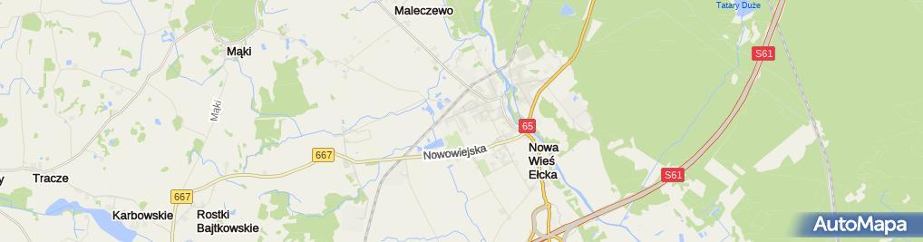 Zdjęcie satelitarne Moto - Garaż Usługi Mechaniczne