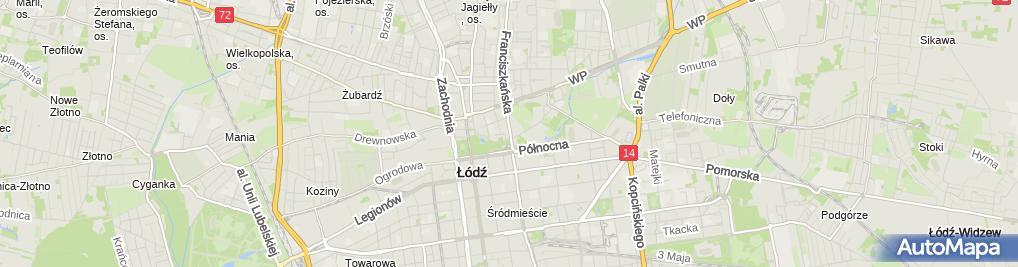 Zdjęcie satelitarne MSL Polska