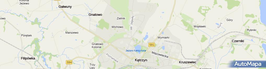 Zdjęcie satelitarne Mti Furninova Polska