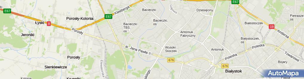 Zdjęcie satelitarne Multi-Import Paweł Okrasiński - Wspólnik Spółki Cywilnej