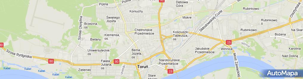 Zdjęcie satelitarne Multi It Zalewski Tadeusz