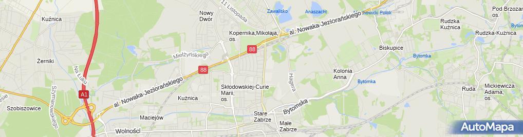 Zdjęcie satelitarne Multi-RM Bartłomiej Placek