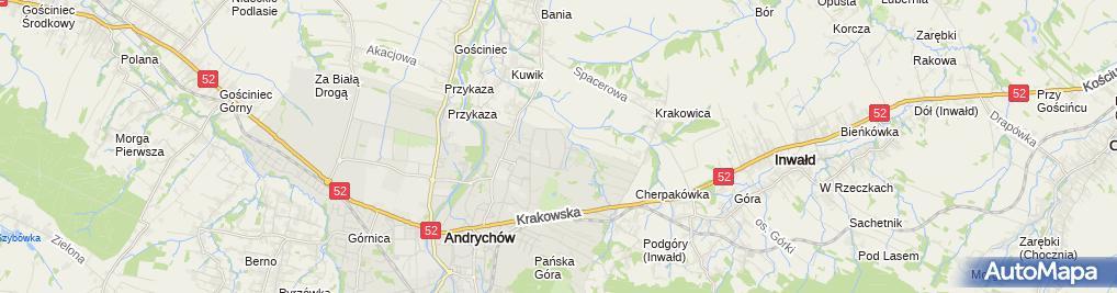 Zdjęcie satelitarne Multi - Sports Mariusz Gądor