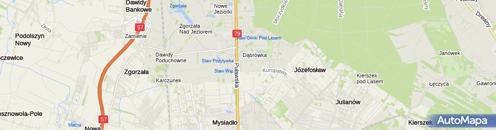 Zdjęcie satelitarne Multi-Vet Przemysław Kępa