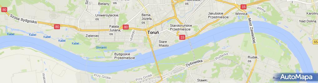 Zdjęcie satelitarne Muza Malinowska Edyta Rakowicz Andrzej