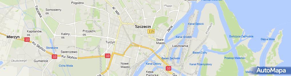 Zdjęcie satelitarne MZ Travel Małgorzata Zmysłowski
