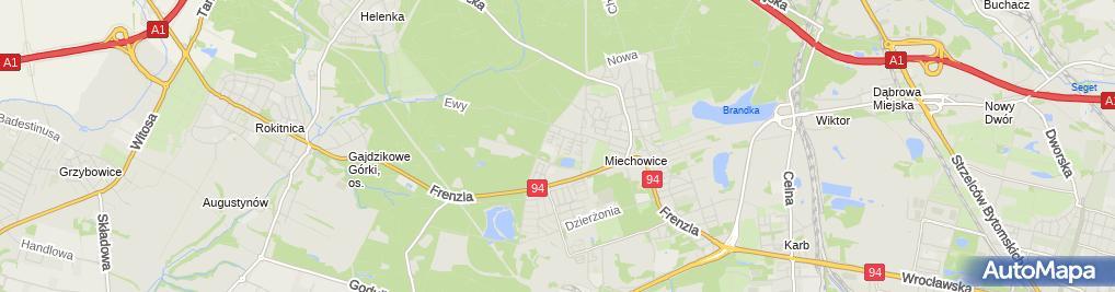 Zdjęcie satelitarne Naprawa Maszyn do Szycia Andrzej