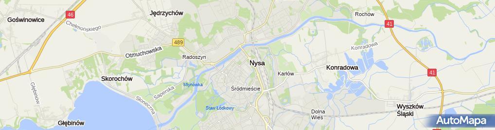 Zdjęcie satelitarne Navicom Aneta Tomaszewska