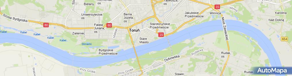Zdjęcie satelitarne Naworska Teresa FK Kancelaria