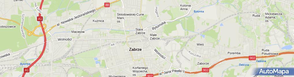 Zdjęcie satelitarne Netcom Marek Szwarczyński