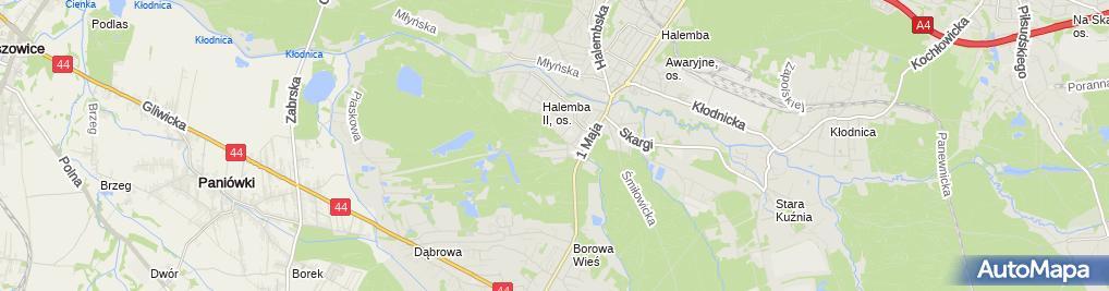 Zdjęcie satelitarne Network Marketing