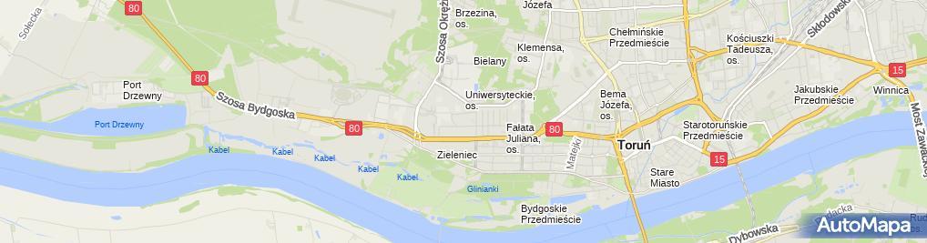 Zdjęcie satelitarne Newage Adam Frąckowiak